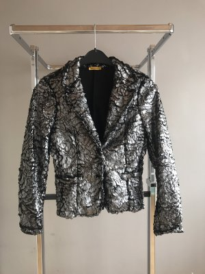 Chilli Boyfriend Blazer black-silver-colored