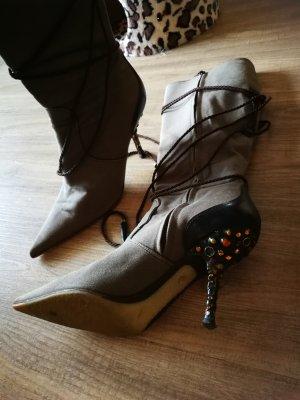High Boots ocher