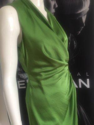 100% Fashion Vestido cruzado verde