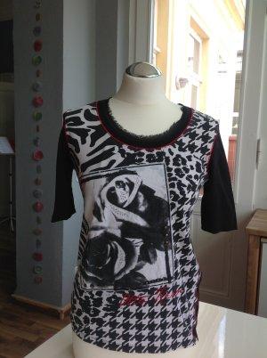 aufwändig gestaltetes T-Shirt Otto Kern Gr. 38
