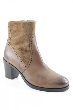 Augusto Short Boots brown-light brown Boho look