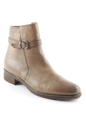 Augusto Korte laarzen bruin simpele stijl