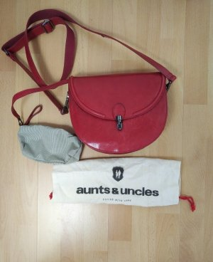 aunts & uncles Crossbody bag red leather