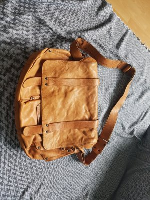 aunts & uncles Pouch Bag cognac-coloured