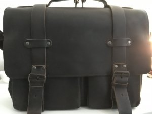 Aunts&uncles Clark Vintage Brown Business- /Laptoptasche