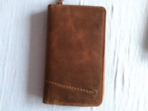 aunts & uncles Wallet bronze-colored-brown leather