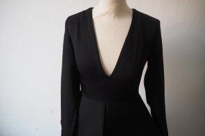 Auqa Schößchen Party Kleid kleines schwarzes