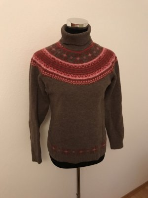 Cyrillus Norwegian Sweater multicolored wool