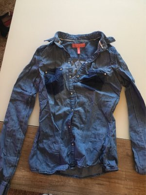 Bershka Zakelijk overhemd blauw