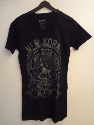 Billabong T-Shirt black-silver-colored