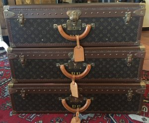 Louis Vuitton Suitcase light brown