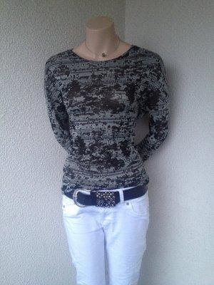 Zara Haut noir-gris