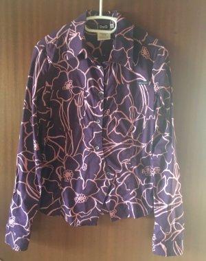 Ausgefallene Bluse mit Blumenprint
