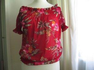 ausgefallene  Florale Bluse
