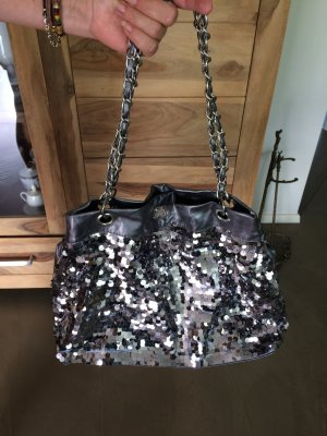 Bolso color plata