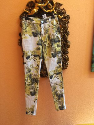 High Waist Trousers multicolored