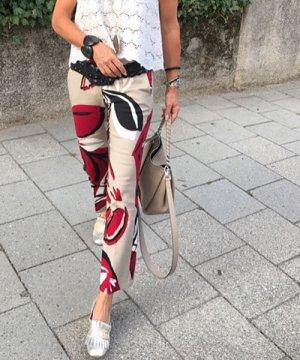 Pantalón tobillero multicolor