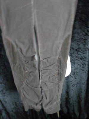 Ausgefallene Jeanshose braun von Tredy in Gr. 40