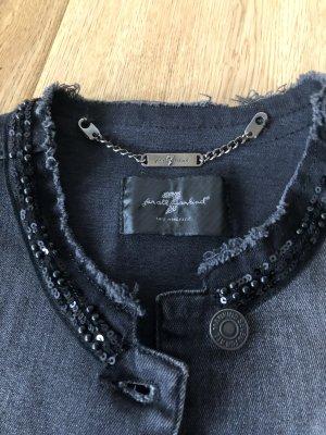 7 For All Mankind Denim Jacket black