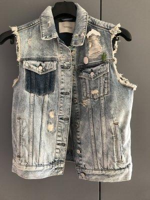 Ausgefallene Jeansweste von Maison Scotch