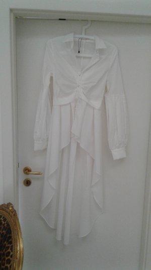 Ausgefallene Long Bluse