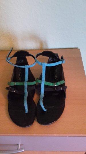Ausgefallene Marccain Riemchen-Sandaletten