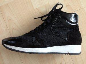 ausgefallene Oxmox Glitzer-Ledersneaker Gr. 41, TOP Zustand!