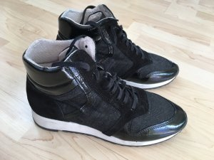 Glitzer Gr41Top Zustand Oxmox Ausgefallene Ledersneaker thxCQsrd