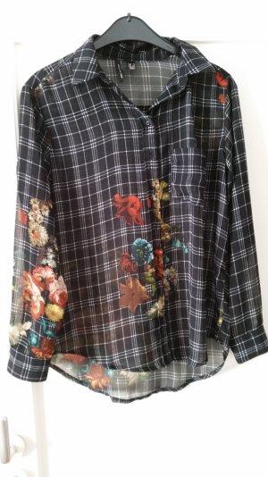 ausgefallene Print-Bluse