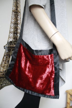 ausgefallene Samt - Tasche aus Ibiza * Hippie * Boho * nie benutzt *