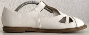 Sandales Salomé à talon haut blanc