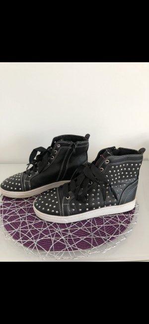 High Top Sneaker black