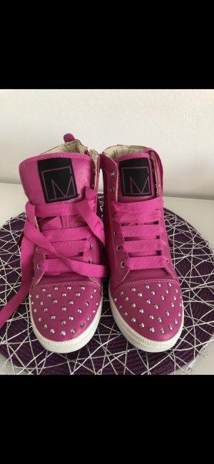 High Top Sneaker pink