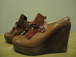 Ausgefallene See by Chloé Chloe Wedges im Loafer-Stil Preppy