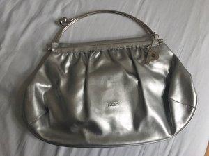 Ausgefallene silberne Handtasche von Picard