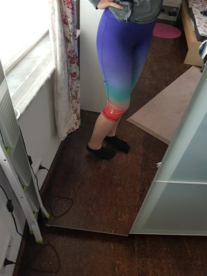 Crivit Pantalon de sport orange-violet