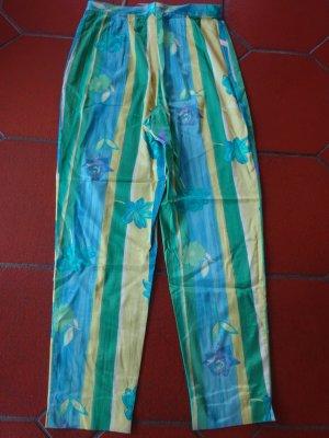 Pantalón elástico multicolor Viscosa
