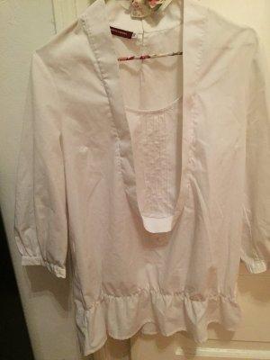 Ausgefallene weiße Bluse
