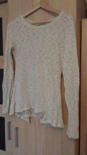 ausgefallener Baumwollpullover