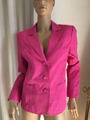 Blazer corto rosa