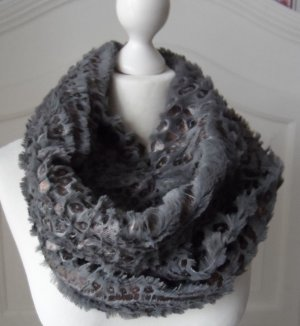 Snood anthracite polyester