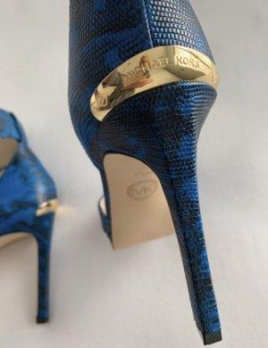 Michael Kors Strapped pumps blue-black
