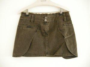 Ausgefallener Mini-Jeansrock von Mango Jeans! Neuwertig! Gr. 34/XS