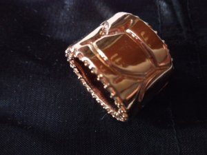 Ausgefallener Ring rosévergoldet W58