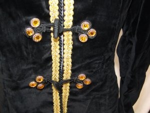 Blazer long noir