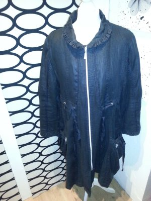 Ausgefallener schwarzer Mantel von MaXimille (Gr. 40)