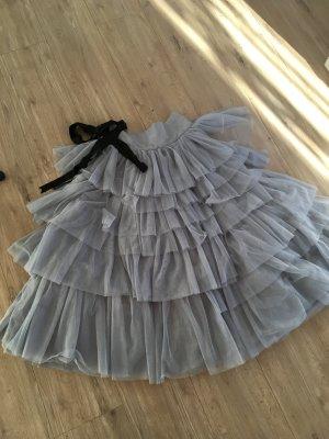 Asos Tulle Skirt light grey