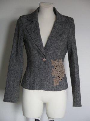 Vero Moda Blazer en laine multicolore laine