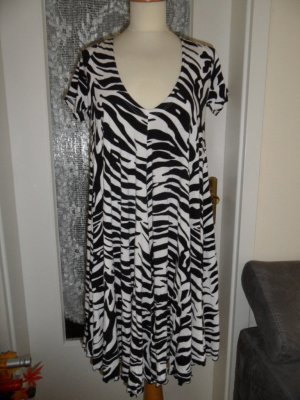 Ausgefallenes FAITH CONNEXION Kleid - Swinger - Gr. L / Gr. 42 animal/Zebra
