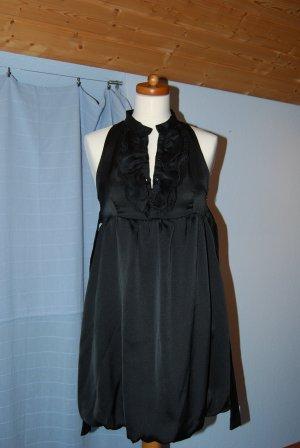ausgefallenes Kleid mit Ballonrock in schwarz von Zara Trf in Gr. S / 36